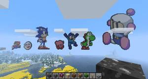 All My Minecraft Creations