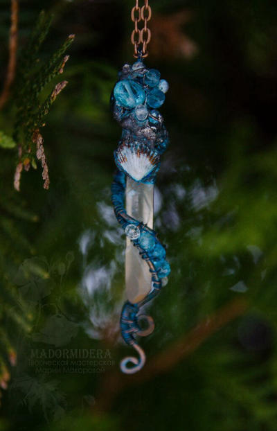 Pendant 'Heart of the Sea' by Madormidera