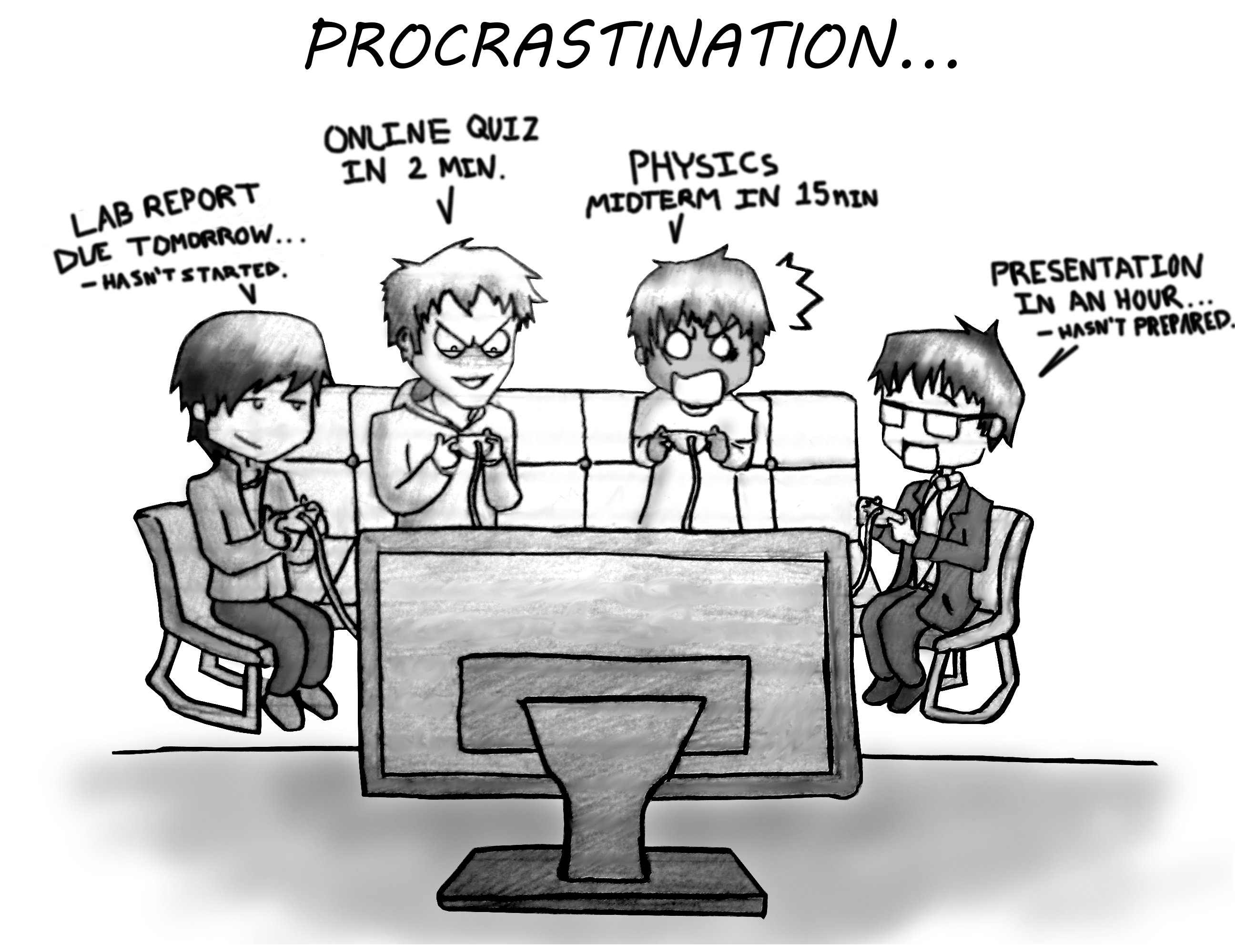 the art of procrastination Power, participation and meaning: assessment #2 music: memedreamsupreme420 - carlos mifsud.