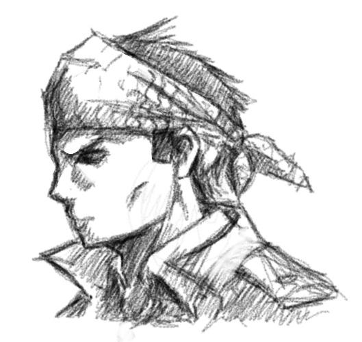 Bandit Sketch by Falling-Card
