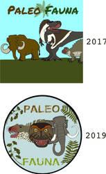 PaleoFauna updated logo