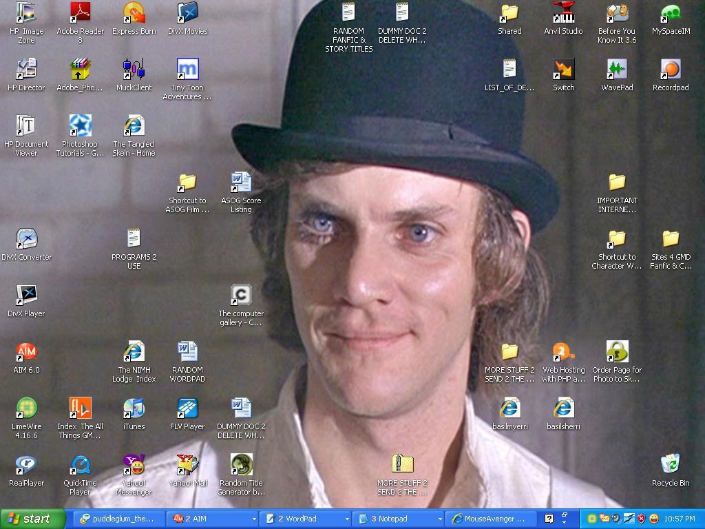 Alex DeLarge Desktop Pic