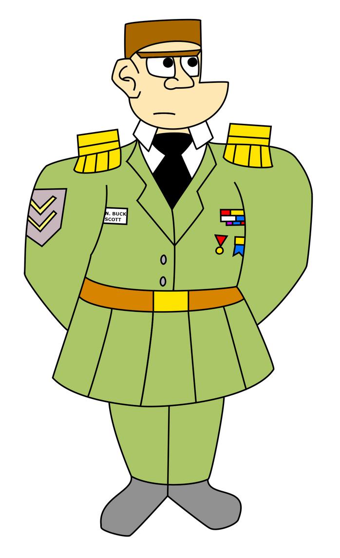 Fant.: General Buck Scott by MouseAvenger