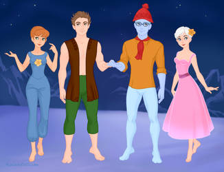 OUAF: 'Frozen' Versions Of The Furlings (Part 1) by MouseAvenger