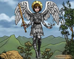 Joan Of Arc As An Epic Angel
