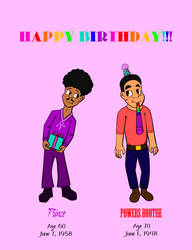 Two Very Special Birthdays! by MouseAvenger