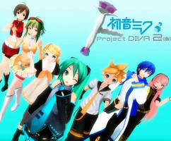 Project DIVA by VocaloidKatia