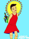 Me hostpital self portriat finished by ComicsMaker9000