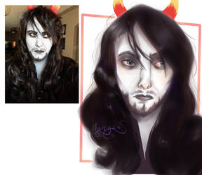 I Draw You Mountanddewme by narcyzus