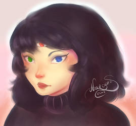 RGB portrait by narcyzus