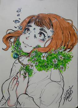 My Little Gardenia [Inktober]