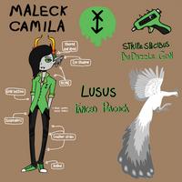 Maleck Camila (Fantroll Ref) Be the Gay Troll by F0XEH