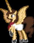 Caroline as pony