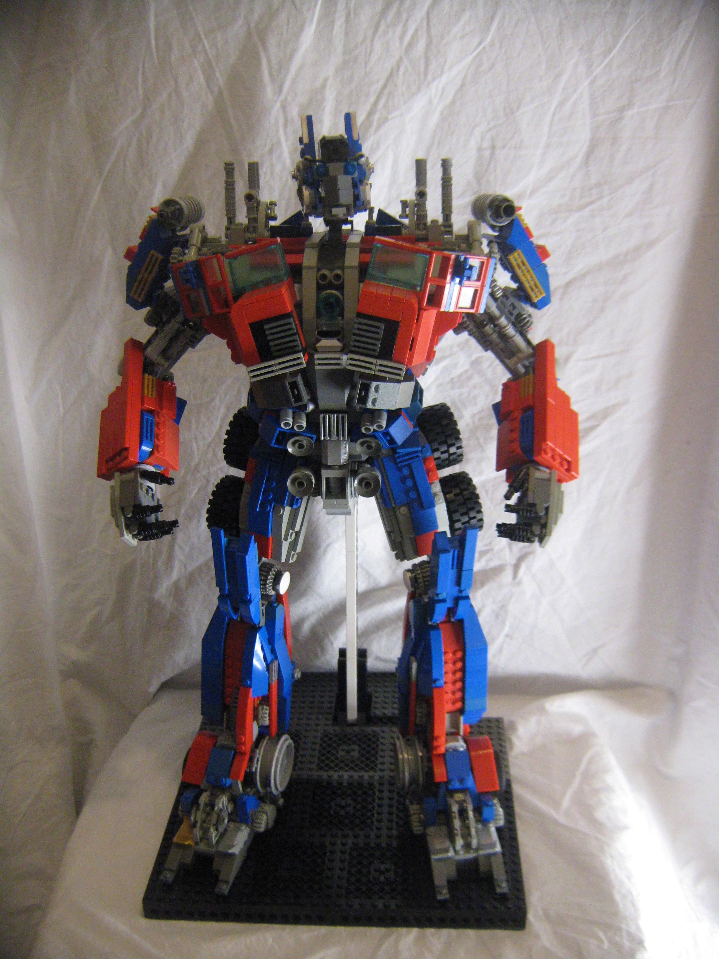 Optimus Prime -Built from lego