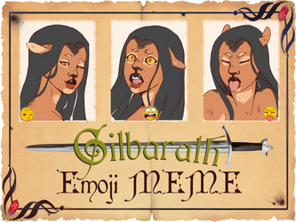 (G):- Emoji meme by O-Cholz