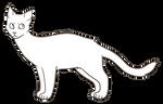f2u cat base (ms paint friendly)