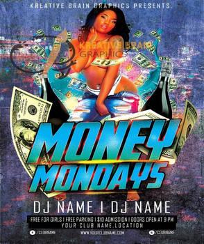 Money Mondays Premade Flyer