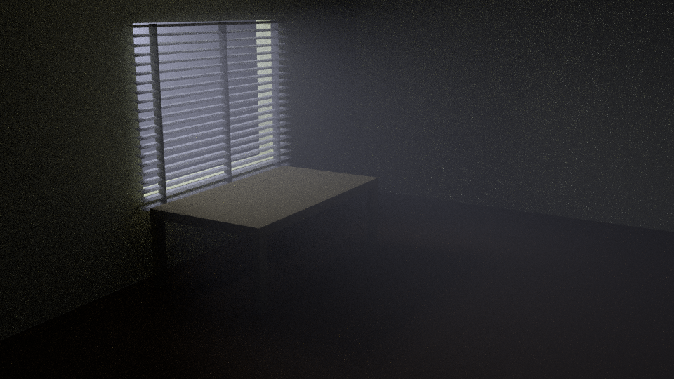 Night time blinds scene with Volumetric Lighting by dexter-roderick ... & Night time blinds scene with Volumetric Lighting by dexter ... azcodes.com