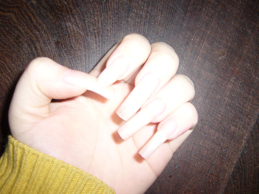 Natural long nails by danis-chan on DeviantArt