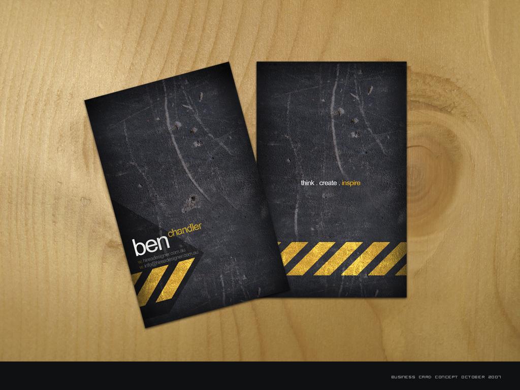 Business Card - hireAdesigner by e1337zA