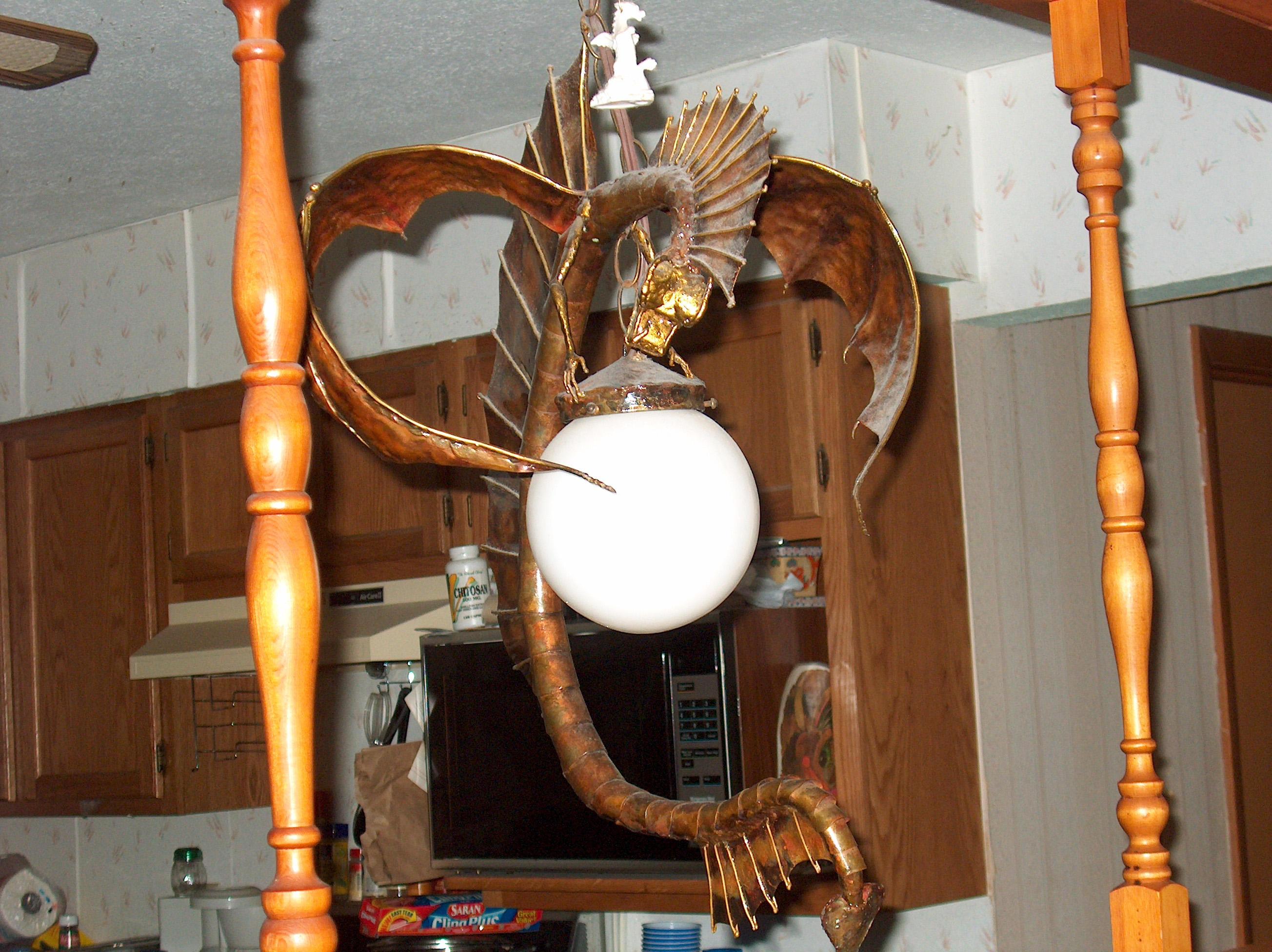 Dragon chandelier three by Merme87 on DeviantArt