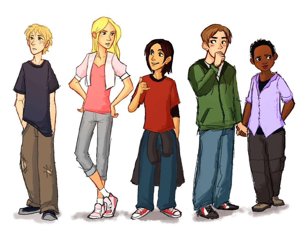 The Animorphs - lineup by lackofa