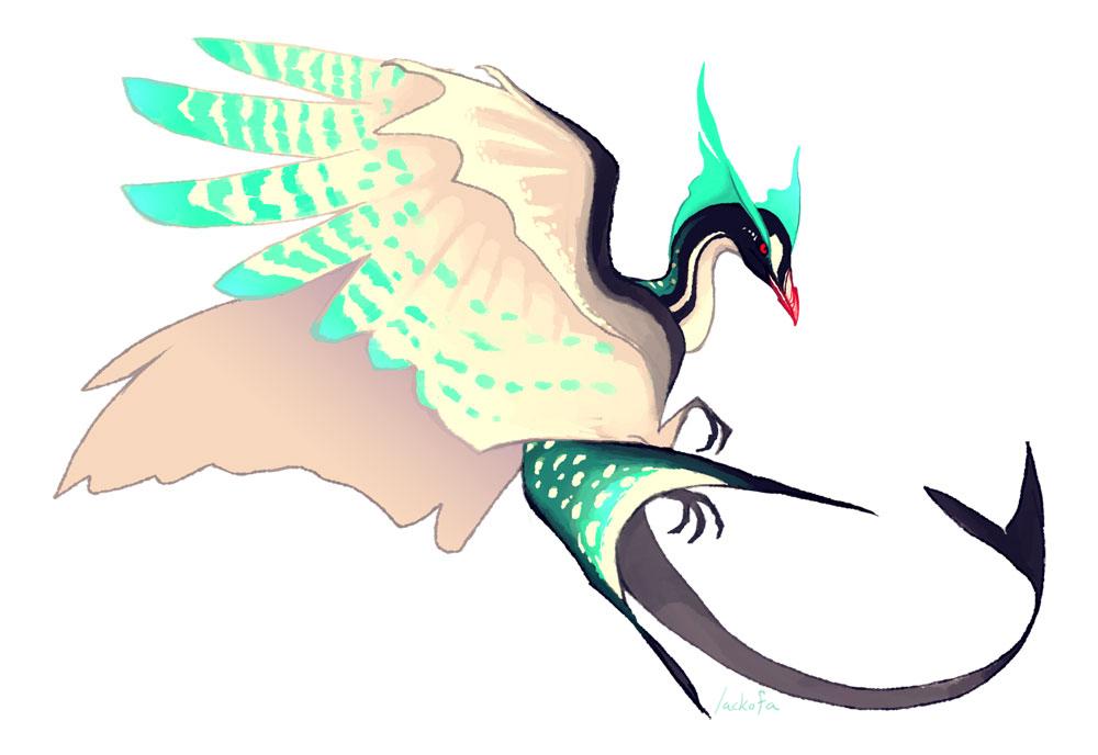 Water phoenix by lackofa