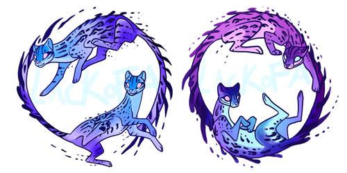 Commission: Tattoo design by lackofa