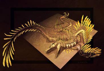 Dinovember doodle by lackofa