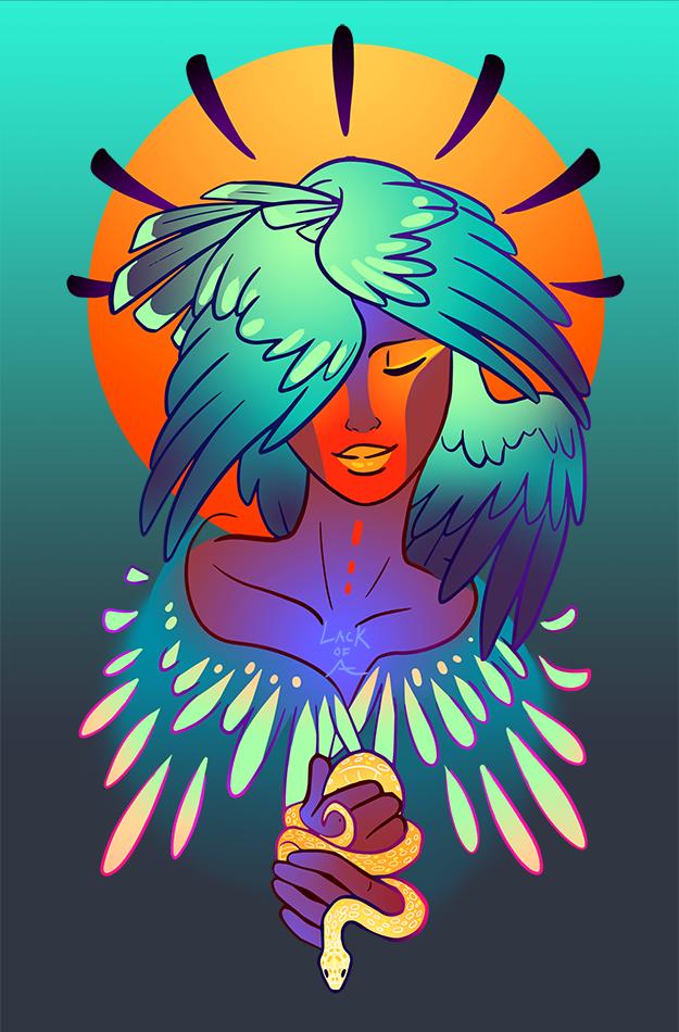 Harpy by lackofa