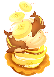 Sweet series: Bananaphins by lackofa