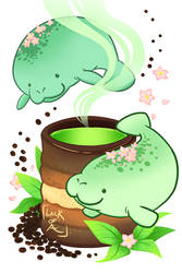 Sweet series: Mana-tea by lackofa