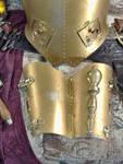 Brass Gauntlet - Open