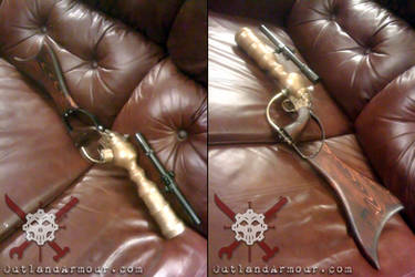 Steampunk Boba Fett Blaster by RouletteDantes