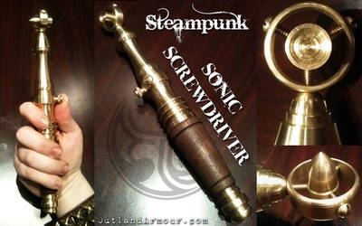 Steampunk Sonic Screwdriver