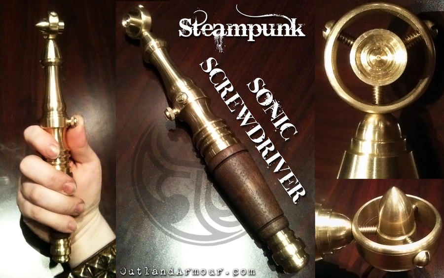 Steampunk Sonic Screwdriver