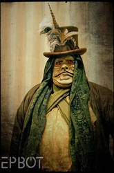 Steampunk Jabba the Hutt by RouletteDantes