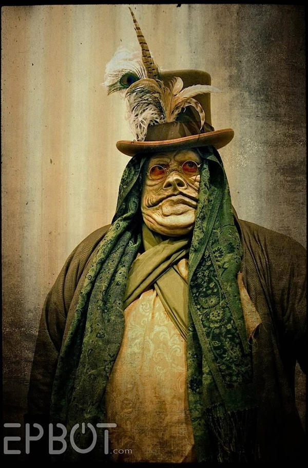 Steampunk Jabba the Hutt by VynetteDantes on DeviantArt Jabba The Hutt Cosplay