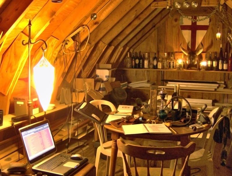 The Steampunk Home The Lair Of Vincent M Dantes Esq