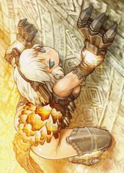 girl shadow colossus 7 by luigi-luigi