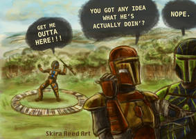 Get me outta here! by Skira-Reed