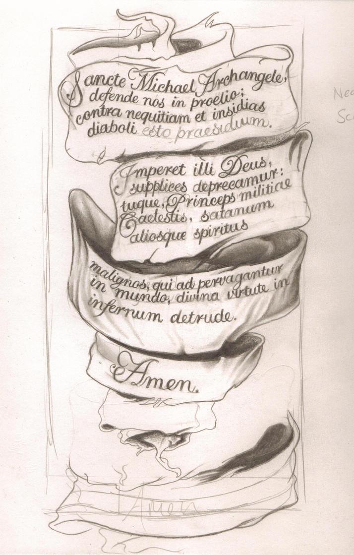 St. Michael Tattoo Design by sammydodger1 on DeviantArt