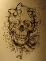 Skull and Roses - 1 by sammydodger1