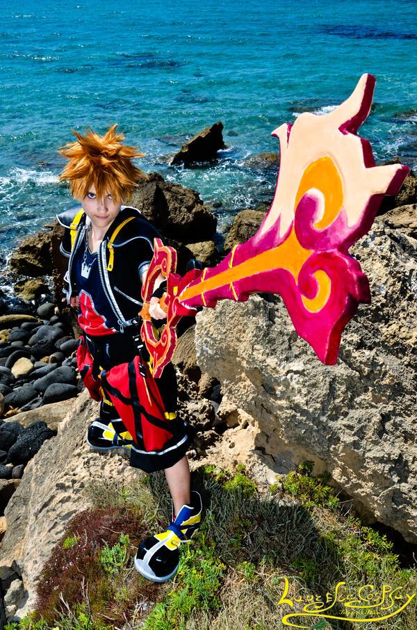 Dragon's Flame  :--- Sora CosPlay ---: by Laurelin-CosPlay