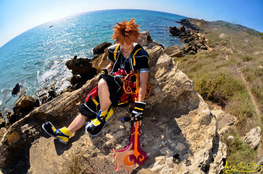 Kingdom Hearts world  :---Sora Cosplay---: