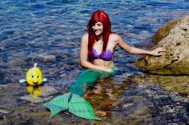 My best friend :-- Ariel Cosplay--: