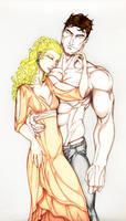 Butch und Marissa by Blaubeerstrauch90