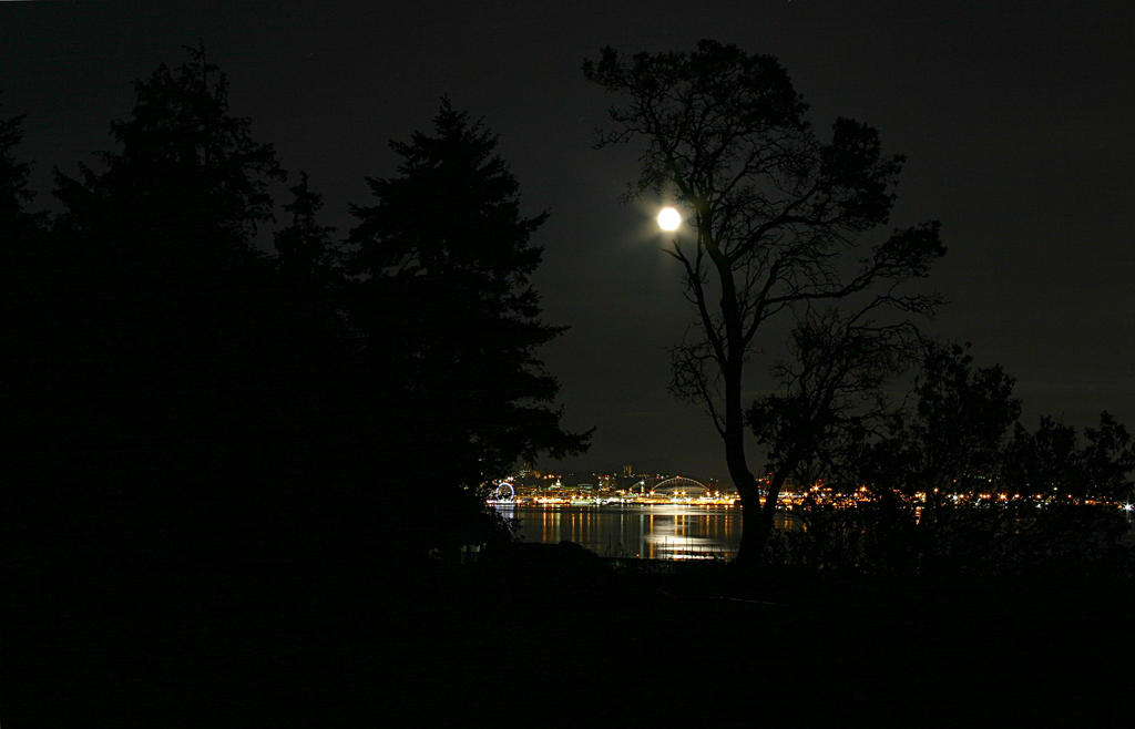 Moon Over Water by Nookster