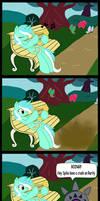 Lyra and the gossip stone by DanteShy