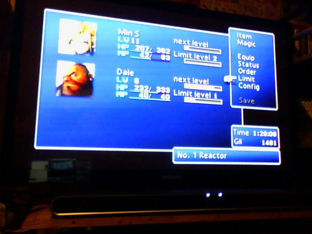 Final Fantasy 7 level 2 limit break at beginning by TigerDusk27